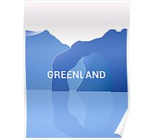 Colorful lands - GREENLAND Poster