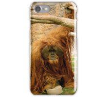 Orangutan Coming iPhone Case/Skin