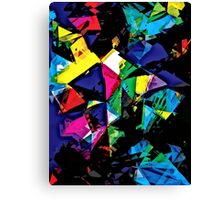 Assorted Shapes And Colors Canvas Print