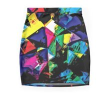 Assorted Shapes And Colors Mini Skirt