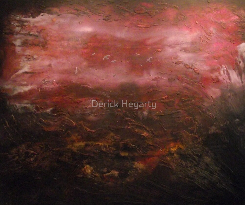 Out from the peat by Derick Hegarty