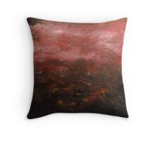 Out from the peat Throw Pillow