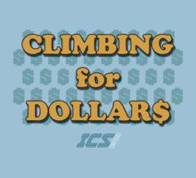 Climbing for Dollars - The Running Man One Piece - Short Sleeve