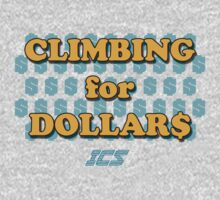 Climbing for Dollars - The Running Man Baby Tee