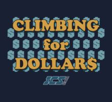 Climbing for Dollars - The Running Man Kids Tee