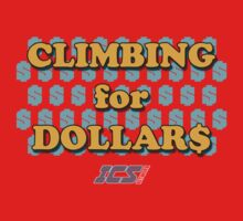 Climbing for Dollars - The Running Man Baby Tee