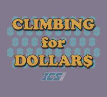 Climbing for Dollars - The Running Man Kids Tee