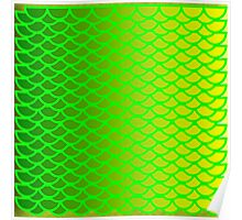 Citrus Fishscales Poster