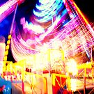 Fairground Lights 7 by TREVOR34