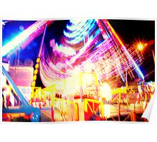 Fairground Lights 7 Poster
