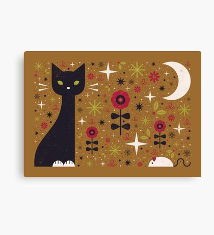 Cat & Mouse  Canvas Print