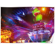 Fairground Lights 8 Poster