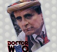 Sylvester McCoy by drwhobubble