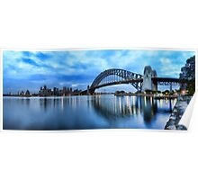Kirribilli Dawn - Panorama Poster