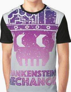 Frankenstein's Mechanoid - 80s Grunge Graphic T-Shirt