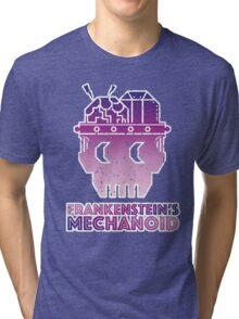 Frankenstein's Mechanoid - 80s Grunge Tri-blend T-Shirt