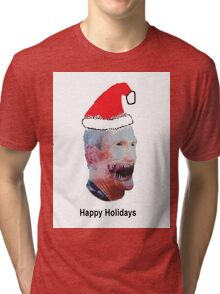 Happy Holidays from Butch Moon Tri-blend T-Shirt
