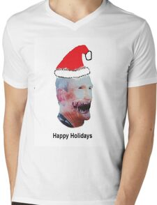 Happy Holidays from Butch Moon Mens V-Neck T-Shirt