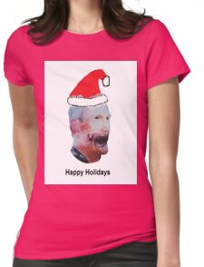 Happy Holidays from Butch Moon Womens Fitted T-Shirt