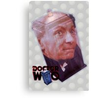 William Hartnell Poster Canvas Print