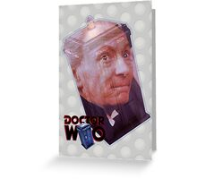 William Hartnell Poster Greeting Card