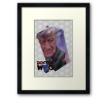 Jon Pertwee Poster Framed Print