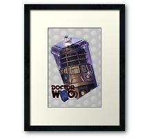 Dalek Poster Framed Print