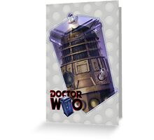 Dalek Poster Greeting Card