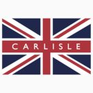 Carlisle UK Flag			 by FlagCity