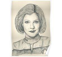 Captain Janeway Poster