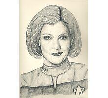 Captain Janeway Photographic Print