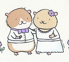 Hamster Wedding by zoel
