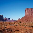 Monument Valley Mitten by Alex Cassels