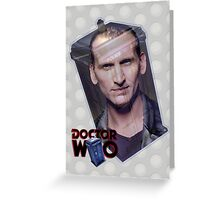 Christopher Eccleston Poster Greeting Card