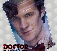 Matt Smith Poster by drwhobubble