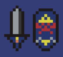 Pixel Hyrule Defender by J Whitehouse