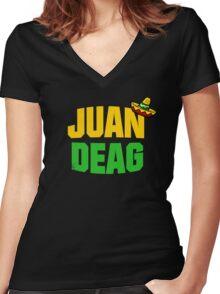 Juan Deag Women's Fitted V-Neck T-Shirt