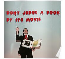Don't judge a book by its movie. Poster