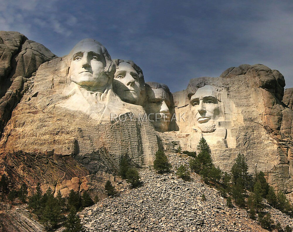 """Mt Rushmore"" by peaky40"