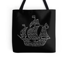 Captain Swan quotes - ship Tote Bag