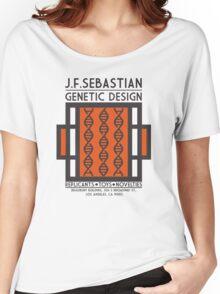 JF SEBASTIAN GENETIC DESIGN - Blade Runner Women's Relaxed Fit T-Shirt