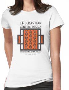 JF SEBASTIAN GENETIC DESIGN - Blade Runner Womens Fitted T-Shirt