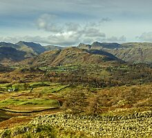 The Langdales by Jamie  Green