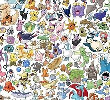 Pokemon Community by gleviosa