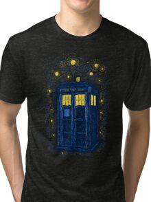 Space Time Impressionism Tri-blend T-Shirt