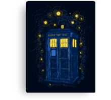 Space Time Impressionism Canvas Print