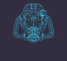 Power Wireframe Blue Unisex T-Shirt