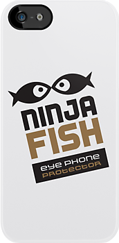 Ninja Fish EYE PHONE PROTECTOR by ninjafish
