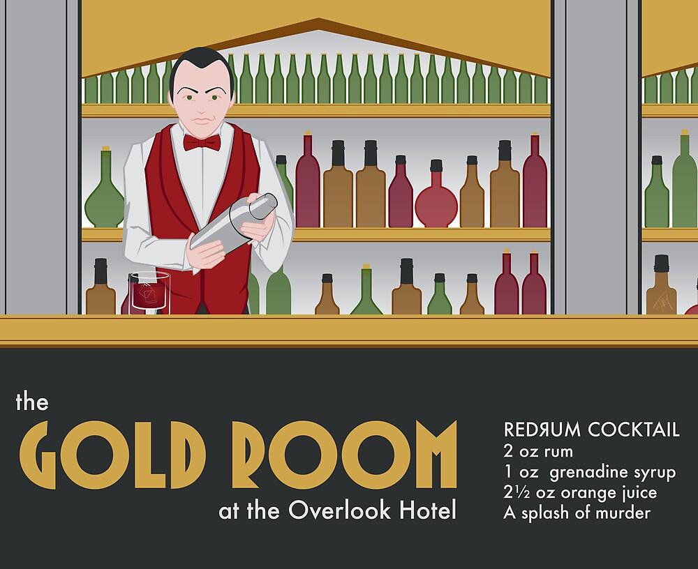 The Gold Room by tatjula