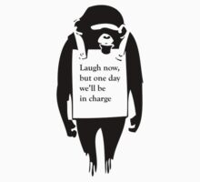 Laugh Now Chimp by olsharpe